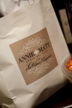 New Orleans Wedding Gift Bag Ideas : for a New Orleans wedding! Wedding Favors and Wedding Party Gifts ...