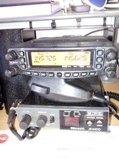 Meus radios vhf e uhf