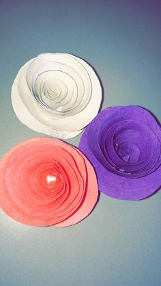How to Make a Paper Rolled Flower
