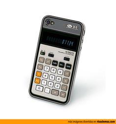 Funda para iPhone Calculadora.