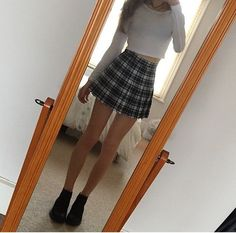 CUTE skirt outfit /lnemnyi/lilllyy66/ Find more inspiration here: http://weheartit.com/nemenyilili/collections/22262382-like-a-lady