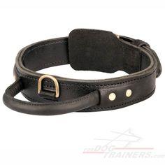 Super quality 2 ply leather agitation dog collar with handle Puppy Collars, Leather Dog Collars, Dog Harness, Dog Leash, Dog Training Equipment, Excited Dog, Dog Muzzle, Nylons, Aggressive Dog