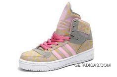 d0115eacfcb Leisure Metro Attitude Hi Pink Flower Print Shoes Best Brand Adidas Jeremy  Scott Special Offers TopDeals