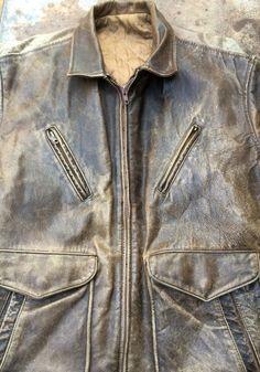Hommes: Vêtements Chevignon Flying Jacket Cuir Junior Vintage High Safety Vêtements, Accessoires