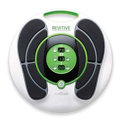 The REVITIVE IX is a medical device designed to increase leg circulation. It uses Electrical Muscle Stimulation (EMS) to stimulate the muscles in your lower . Poor Circulation, Circulation Sanguine, Swollen Ankles, Foot Pain Relief, Medical Design, Leg Pain, Nerve Pain, Foot Massage, Drug Free