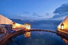 Andronis Luxury Suites in Santorini, Greece. Been to Santorini 4 times now. Santorini Grecia, Santorini Hotels, Santorini Island, Oia Greece, Santorini Italy, Santorini Travel, Romantic Places, Beautiful Places, Greek Isles