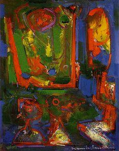 """Asklepois"", by Hans Hofmann (1947)"