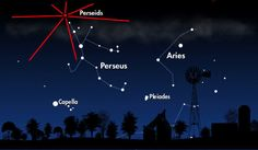 Perseid  Meteor Shower Peaks Sunday And Monday,  10 To 40 Tons Of Material Incoming | Space