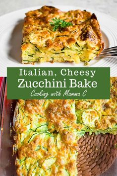 Cheesy Zucchini Bake - The best zucchini casserole with Romano and Parmesan! Made from scratch and so good. Cheesy Zucchini Bake - The best zucchini casserole with Romano and Parmesan! Made from scratch and so good. Side Dish Recipes, Vegetable Recipes, Vegetarian Recipes, Cooking Recipes, Healthy Recipes, Veg Zucchini Recipes, Vegetable Bake, Fruit Recipes, Veggies