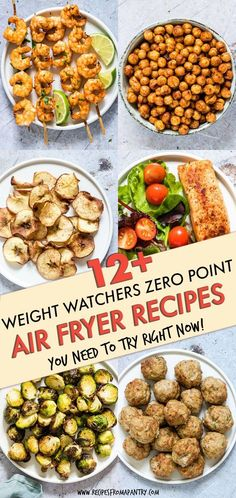 All of the weight watchers air fryer recipes included here are quick and SO easy. - All of the weight watchers air fryer recipes included here are quick and SO easy to make, and even - Air Fryer Recipes Vegetarian, Air Fryer Recipes Breakfast, Air Fryer Dinner Recipes, Air Fryer Recipes Easy, Vegetarian Meals, Air Fryer Recipes Weight Watchers, Weight Watchers Meals, Ww Recipes, Brunch Recipes