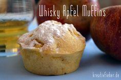 Whisky Apfel Muffins - Warum? Sie passen in die Herbst/Wintersaison und sind ne tolle Abwechslung zu den dubble-chocolate-cream-cheese-caramel Varianten.