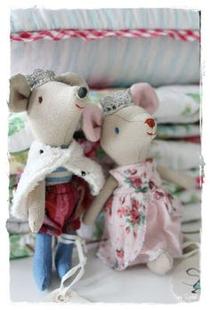 Cute little fabric mice