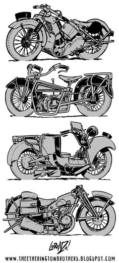 The Etherington Brothers: Motorcycle Design Week Part 2/4