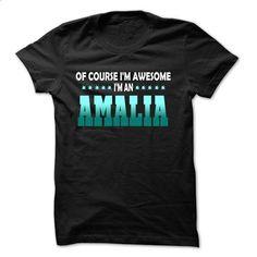 Of Course I Am Right Am AMALIA... - 99 Cool Name Shirt  - #diy tee #sweatshirt man. CHECK PRICE => https://www.sunfrog.com/LifeStyle/Of-Course-I-Am-Right-Am-AMALIA--99-Cool-Name-Shirt-.html?68278