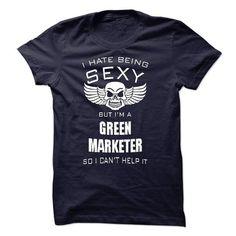 GREEN MARKETER - #gift #birthday gift. WANT IT => https://www.sunfrog.com/LifeStyle/GREEN-MARKETER-57628567-Guys.html?68278