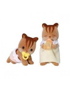 Sylvanian Families - Walnut Squirrel Twins