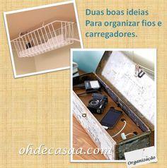 Ideias para organizar fios - www.ohdecasaa.com