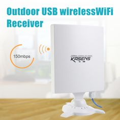 KASENS N9600 High Power 6600MW 150Mbps USB Wireless WiFi Adapter Network Card 80 DBI Antenna 802.11B / G / N Outdoor Long Range-in Network Cards from Computer & Office on Aliexpress.com   Alibaba Group