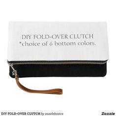 DIY FOLD-OVER CLUTCH