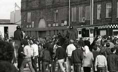 Outside the Ground - Manchester Derby 1981 | Flickr - Photo Sharing!