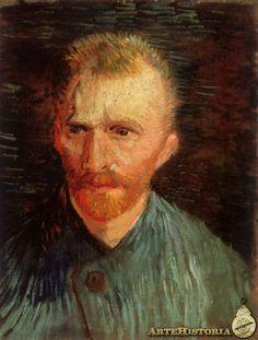 Serie de autorretratos, Vincent Van Gogh, 1887 POSTIMPRESIONISMO