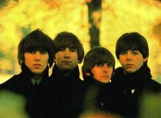 the Fab Four on the Beatles For Sale album cover.