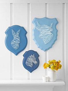 String-Art Trophies http://www.countryliving.com/crafts/projects/home-decor-crafts?click=smart=ist=smart=CLG=http://www.countryliving.com/crafts/projects/home-decor-crafts-SMT-CLG#slide-2
