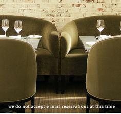 Brentwood Tavern, LA - green velvet sofas side-by-side