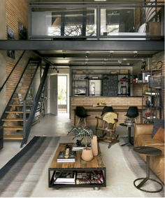 Bohemian Loft Ideas This image has 0 repetitions.Bohemian Loft Ideas This image has 0 repetitions. Author: inga bohemian Ideas Loft, loftdesign Industrial Duplex Inspiration - we bring you good ideas on Loft Design, Tiny House Design, Design Case, Enterier Design, Duplex House Design, Cottage Design, Wall Design, Industrial House, Industrial Interiors