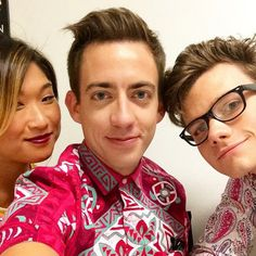 Jenna, Kevin and Chris
