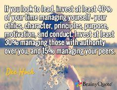 need more practice in managing self