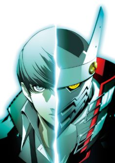Art of the protagonist of Persona 4