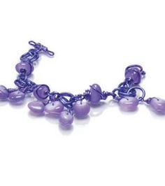 Chained Purple Agate Bracelet : Jewelry & Bead Projects :  Shop | Joann.com