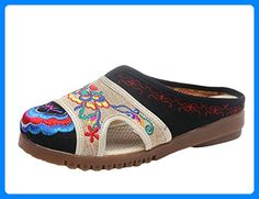 Embroidered Hollow Out Breathable Backless Flat Shoes is cheap and comfortable. There are other cheap women flats and loafers online. Clogs, Ankle Snow Boots, Loafers Online, Types Of Shoes, Partner, Womens Flats, Comfortable Shoes, Loafer Flats, Oxford Shoes