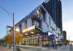 Daniels Spectrum by Diamond Schmitt Architects Inc. in Toronto, Canada