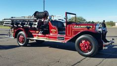 I don't remember anything about this firetruck. .. except that it was an American Lafrance. ...