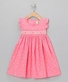 Pink Heart Dress - Infant & Toddler