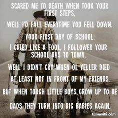 Gary Allan ~ Tough Little Boys