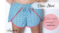 Free Sewing Pattern: Pareo Shorts-Srta.Pizpiretta: Pareo Short ¿Los coses conmigo? Find Pattern Here: http://www.srtapizpiretta.com/2015/08/patronespattern-pareo-short-cc-dia-1.html