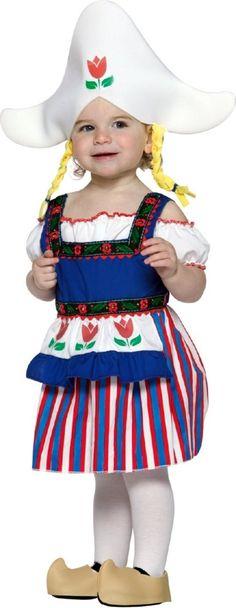 Lil Dutch Girl Costume
