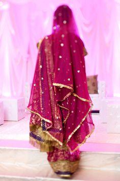 #sari #indian #fuschia  #veil #culture
