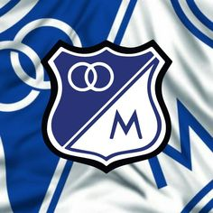 Bandera de millonarios fc Hearth, Goku, Wallpapers, Logos, Amor, Champs, Tatuajes, Sports, Logo