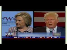 #Fox & Friends (July 30, 2016) #Trashing Trump - #Hillary Clinton: Trump...