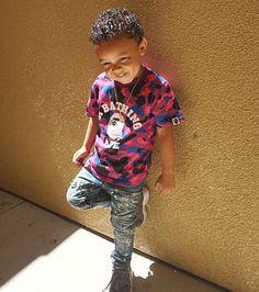 Little man is so cute