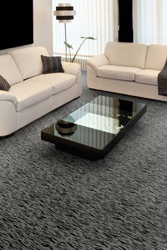 Multicolor Patterned Living Room Carpet By Kane Carpet - Carpeted living rooms