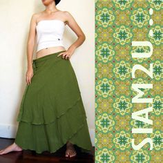 I like-https://www.etsy.com/listing/98823907/hippie-gypsy-green-cotton-two-layers