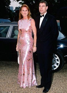 Talking point: The Duke and Duchess of York, pictured together in London in 2000, have both previously spoken about getting married again