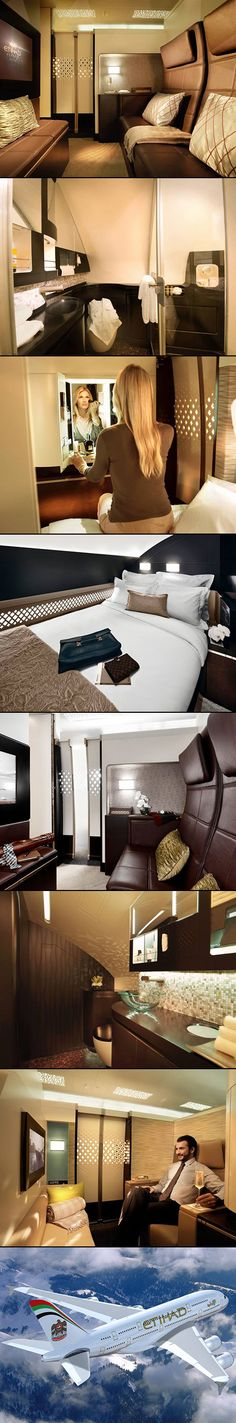 jagger associates services provided by interior designers Etihad Airways has unveiled new luxury living space which will be made  available on its A380