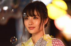 yukata at the summer festival Japanese Beauty, Asian Beauty, Satomi Ishihara, Asian Eyes, Girls Characters, Japanese Models, Attractive People, Interesting Faces, Actor Model