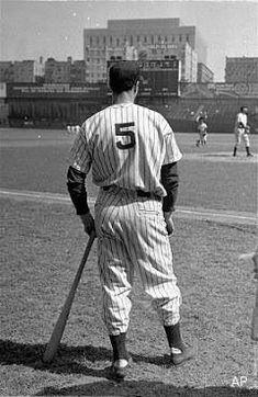 9a5e600a418 Joe DiMaggio at Yankee Stadium  realbaseball Baseball Jerseys